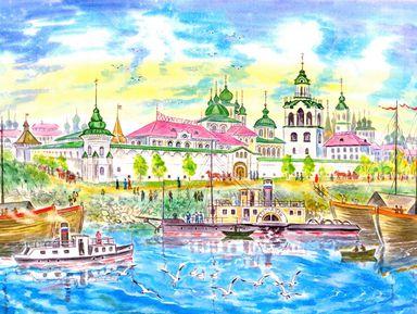 Семейная интерактивная прогулка по Ярославлю