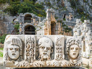 Античный город Мира и храм Святого Николая: путешествие из Кемера