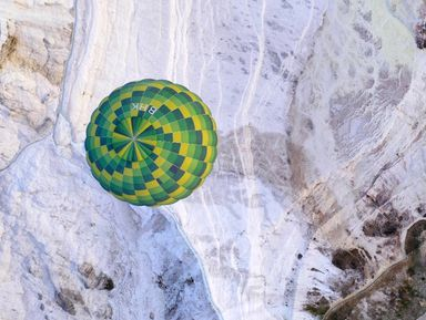 Над Памуккале— навоздушном шаре! Тур из Белека