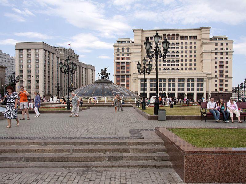 Фото Классическая обзорная экскурсия по Москве на автобусе