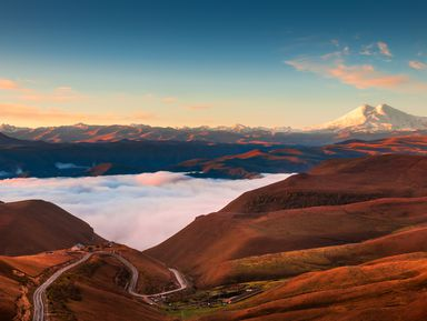 Джилы-Су: горы, водопады и ущелья