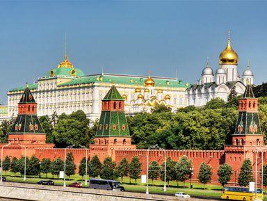 Московский Кремль с гидом-историком