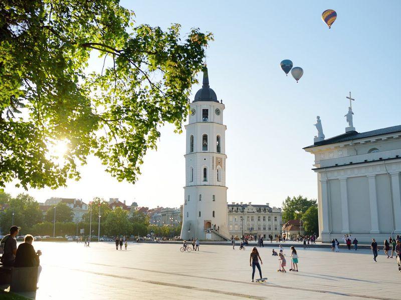 Влюбиться в Вильнюс за три часа!