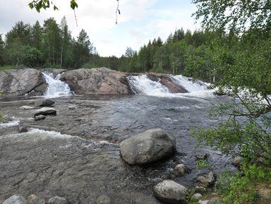 ИзКандалакши— кКолвицкому водопаду