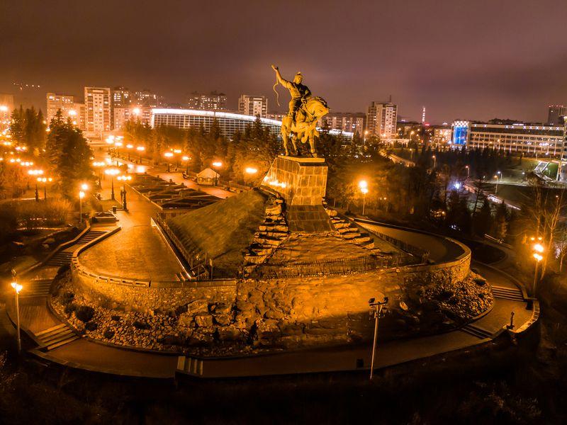 Экскурсия Вечерняя Уфа на автомобиле