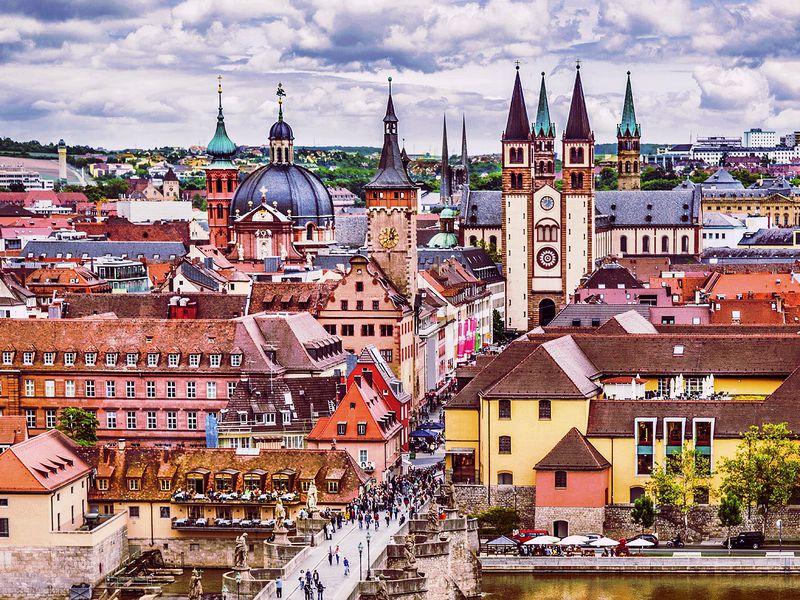 Экскурсия Великолепный Вюрцбург: барокко ивино