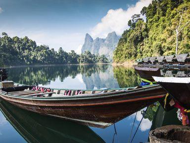 Озеро Чео Лан и лес ТаПом: открыть заповедный Таиланд
