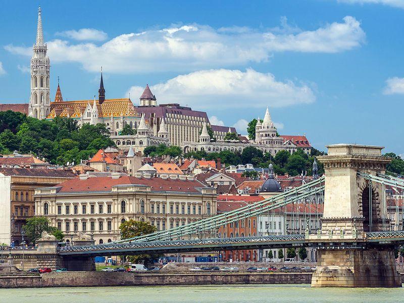 По королевскому Будапешту на автомобиле