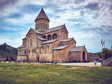 Архитектурное ожерелье Мцхеты – христианские храмы и античный Уплисцихе