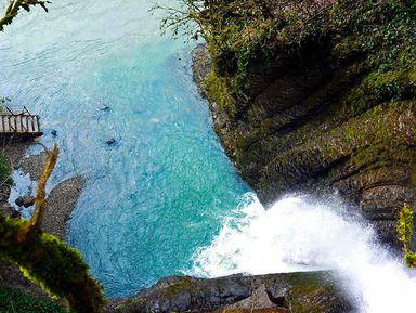 По руслу реки Агва к водопадам
