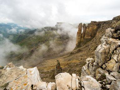 На внедорожнике — к грандиозному плато Бермамыт!