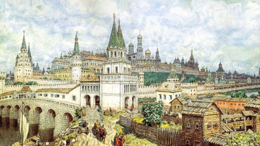 Историческая прогулка по Москве от древности до наших дней