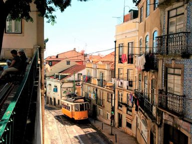 Прогулка в атмосфере старого доброго Лиссабона