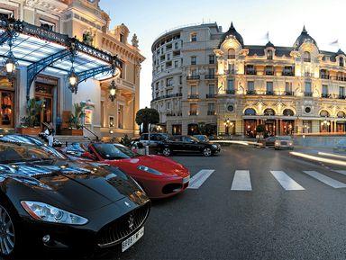 Все краски Монако!