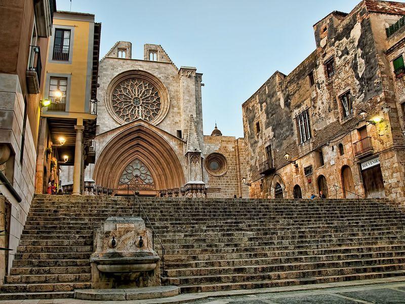 Античная, средневековая и современная Таррагона