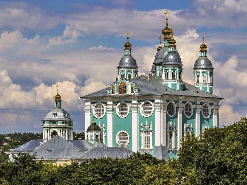 Экскурсия Золотые купола Смоленска