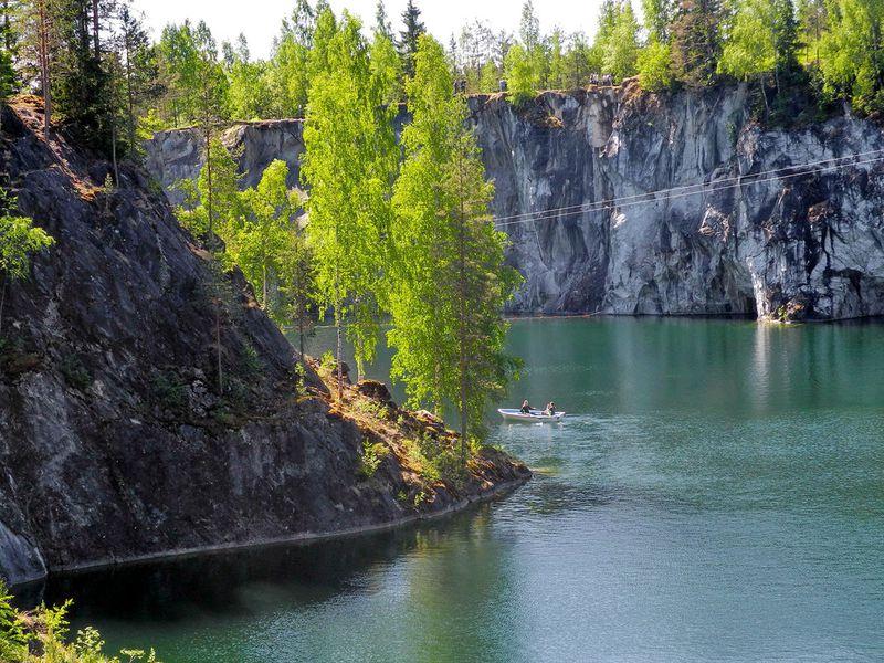 Экскурсия Красоты Северного Приладожья игорный парк Рускеала