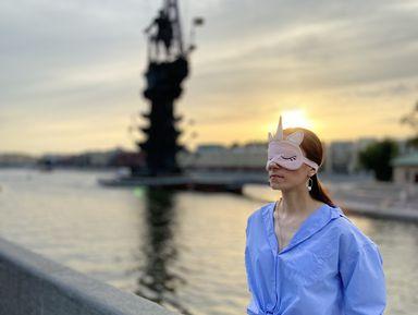 Прогулка по Москве вслепую
