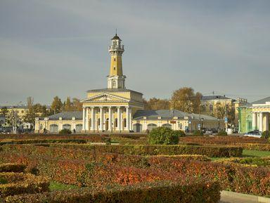 Кострома— улиц старинных тесьма