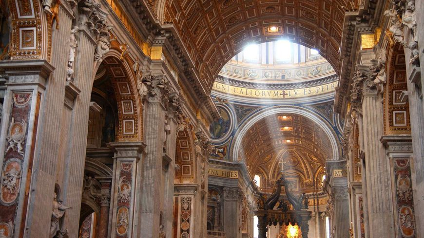 Паломничество в собор Святого Петра