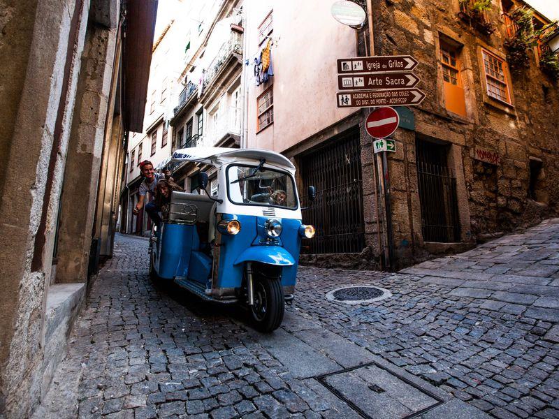 Экскурсия Знакомство с Лиссабоном на тук-туке