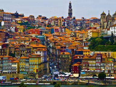 Родина Vinho do Porto ― город Порту
