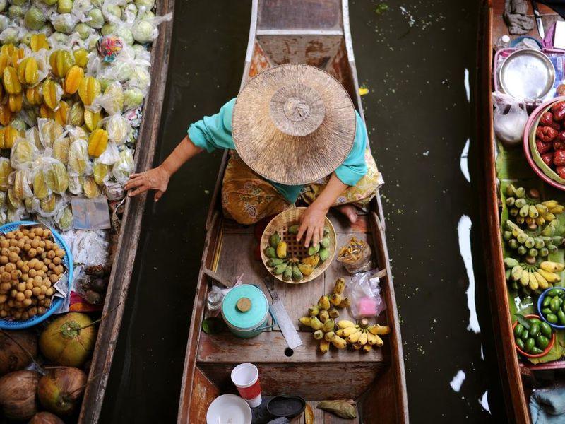 Экскурсия Яркие рынки Бангкока