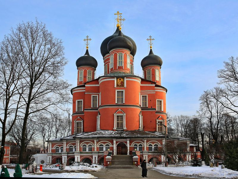 Экскурсия Донской монастырь: история и легенды