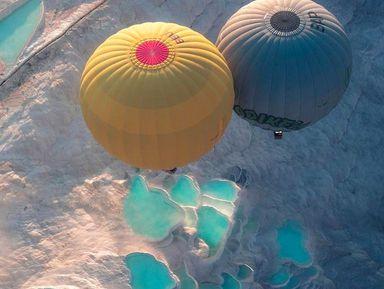 Над Памуккале— навоздушном шаре! Тур из Кемера