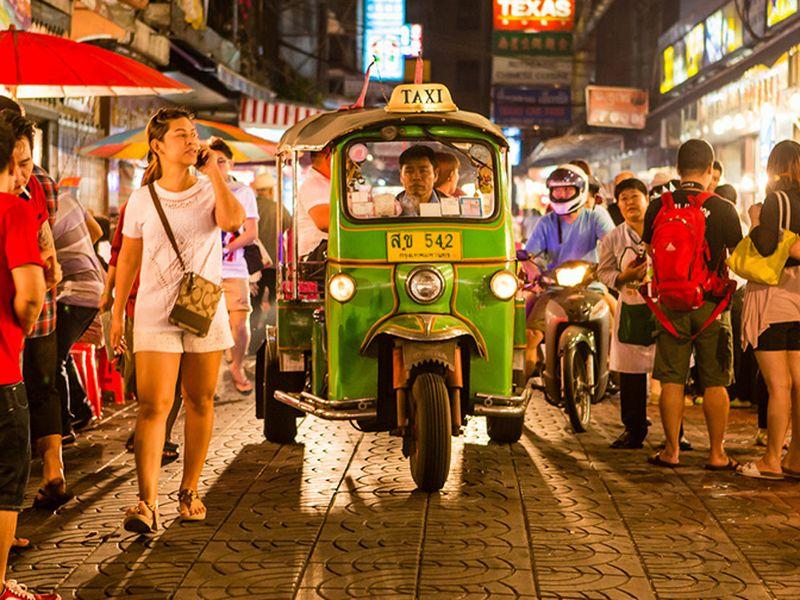 Экскурсия Вечерний Бангкок на тук-туке!