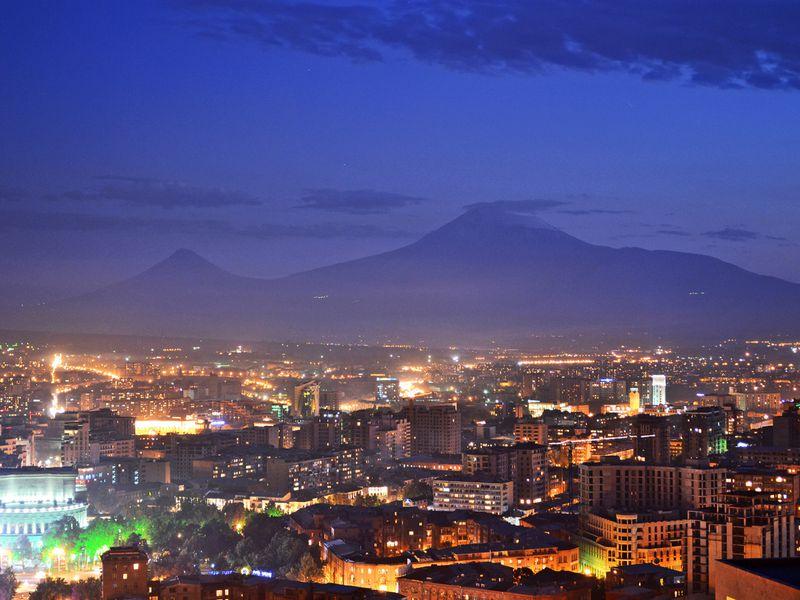 Экскурсия Вечерняя прогулка по Еревану
