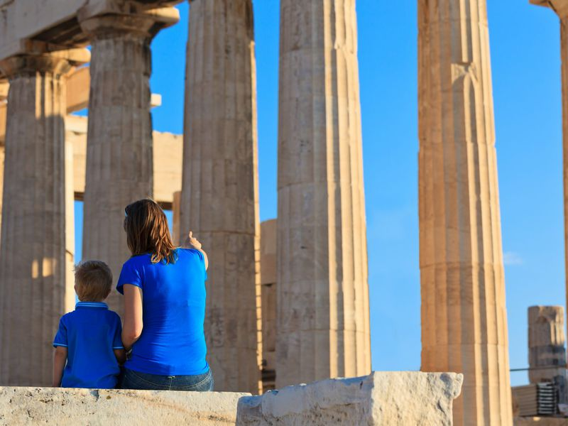 Экскурсия Афины для детей: путешествие на машине времени