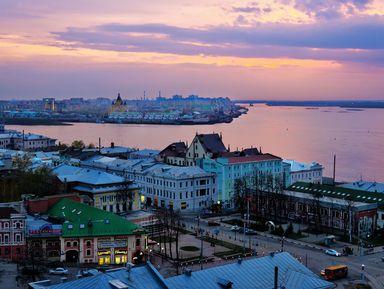 Нижний Новгород — «город древний, город славный, город молодой»