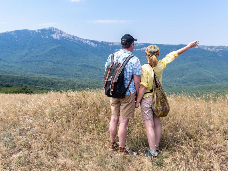 Экскурсия Прогулка по горам Кудрявая Марья и Лысый Иван