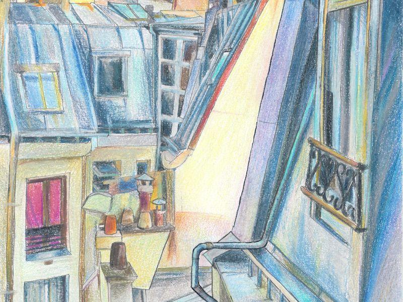 Экскурсия Париж в ваших зарисовках — лучше любых открыток и фотографий!