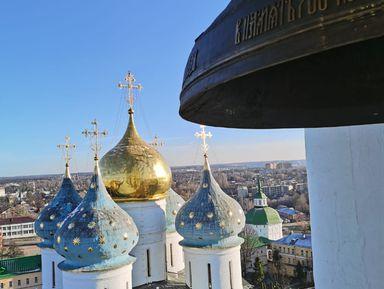 Троице-Сергиева лавра спосещением колокольни