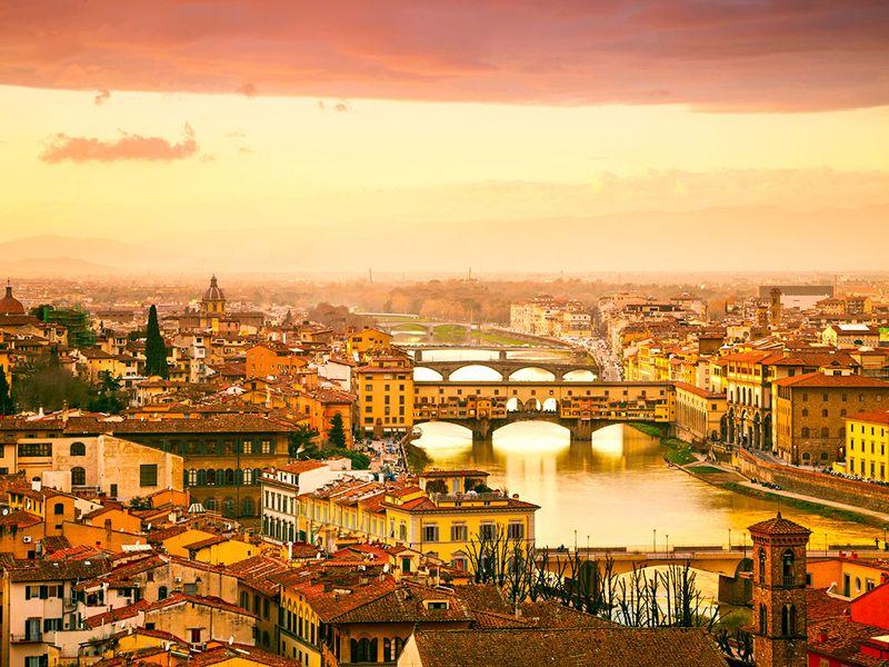 Экскурсия Из Рима — во Флоренцию и Пизу!