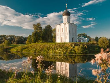 Боголюбово и церковь Покрова на Нерли