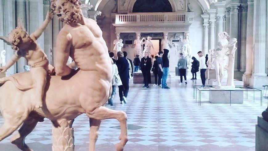 Интерактивная прогулка по Лувру с детьми