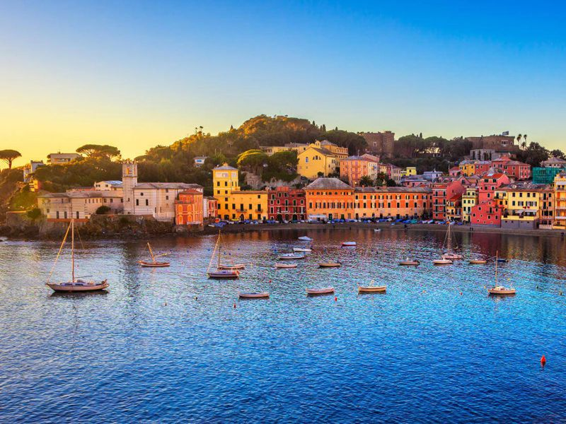 Экскурсия Из Генуи в очаровательный Сестри-Леванте