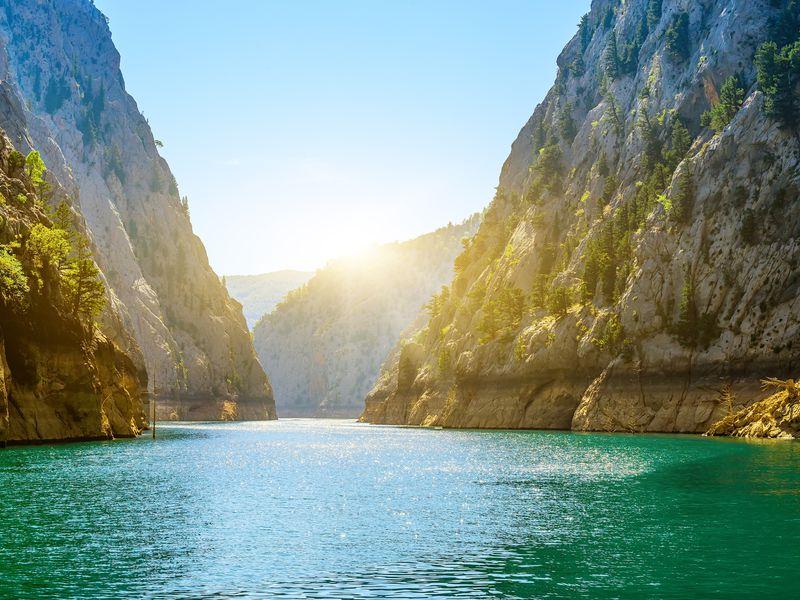 Экскурсия Автобусная экскурсия «Зеленый каньон — нефритовое царство Турции»