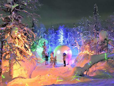 Зимняя сказка Хибин