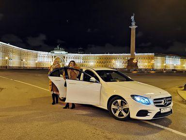 Атмосферная прогулка по ночному Петербургу