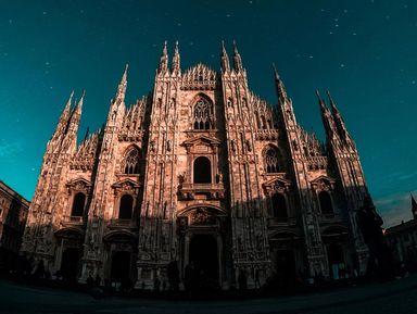 Милан— город искусства