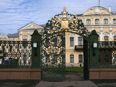 Квест «Шереметевский дворец иего обитатели»