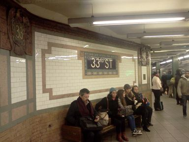 Эстетика нью-йоркского метро