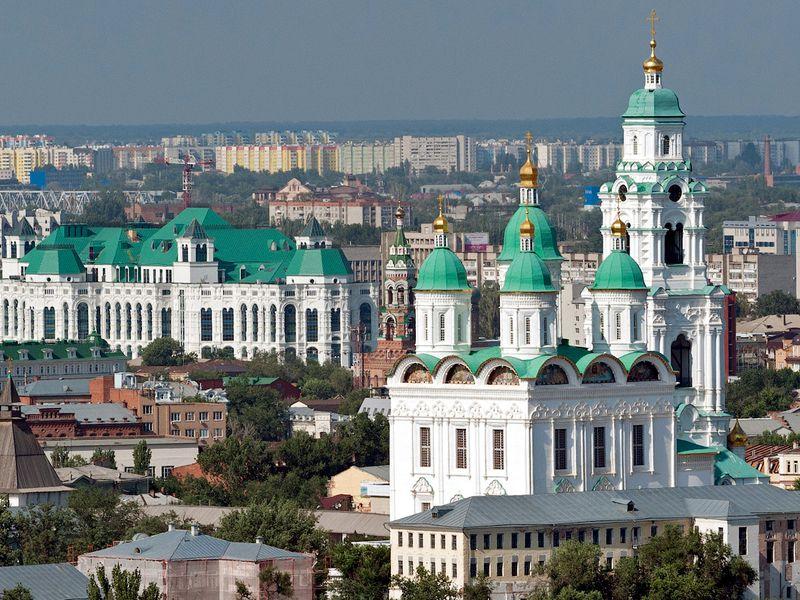 Экскурсия Влюбиться в Астрахань за 2 часа!