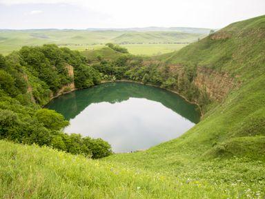 Плато Канжол, озера Шадхурей иводопад Гедмишх— изГеоргиевска