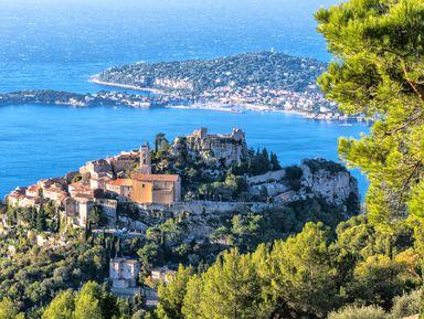 Лучшие виды от Ниццы до Монако!