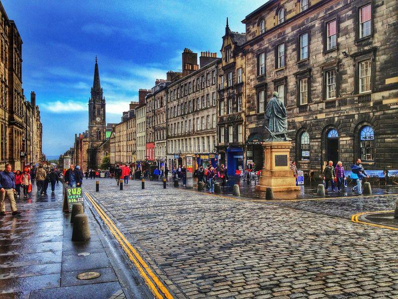 Экскурсия Эдинбург. Путешествие сквозь века